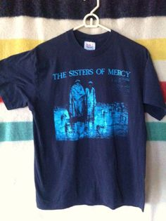 Vintage 80's OG Sisters Of Mercy Tour Concert by ElliottBayVintage, $100.00