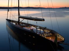 Beautiful Modern Sail Boat
