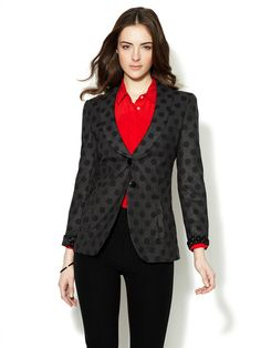Polka Dot Blazer by Emporio Armani on Gilt.com
