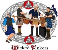 The Wicked Tinkers...This is a MUST SEE Celtic Rock band.