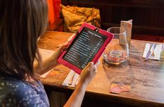 iPad #DigitalSignage powered by @embedsignage to display daily specials menus updated via Excel at The Sir Roger Tichborne, Loxwood UK:  http://www.eclipsedigitalmedia.co.uk/case-studies/the-sir-roger-tichborne/