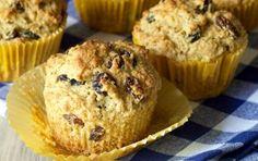 Muffin all'uvetta, ricetta light - I muffin all'uvetta sono una ricetta per realizzare un delizioso dolce light perfetto per la colazione.