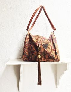 7ccdc61065 Vintage DIANA DE SILVA Shoulder Bag