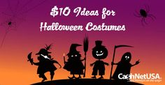 Here are frugal and fun Halloween costumes that are so inexpensive, it's scary! Adult, child and group costumes, all for $10 or less.