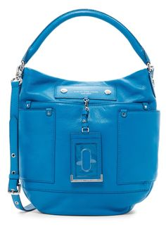 Marc By Marc Jacobs New Mbmj Aquamarine Leather M0006273 Hobo Bag. Hobo bags are hot this season! The Marc By Marc Jacobs New Mbmj Aquamarine Leather M0006273 Hobo Bag is a top 10 member favorite on Tradesy. Get yours before they're sold out!