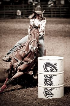Barrel Racing photography - This would be me in my teens! I kicked some serious ass in this competition and I sure wish I was still doing it!