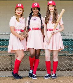 halloween costumes ideas A League Of Their Own | 16 Group Halloween Costumes For You And Your Squad