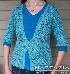 Crochet Lace Cardigan Sweater