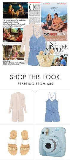 """""""50 First Dates"""" by mars ❤ liked on Polyvore featuring Une, Chanel, Steve J & Yoni P, Soludos, Fuji and Giselle"""