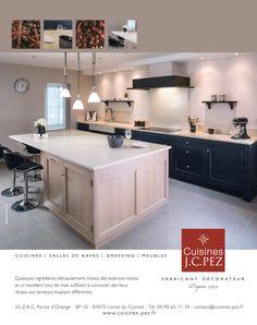 Campagne Cuisines Pez Blue Press, Kitchen Island, Campaign, Design, Home Decor, Kitchens, Island Kitchen, Interior Design, Design Comics