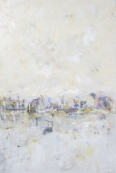 Abstract Cityscape Original Painting City with by lindadonohue, $2000.00