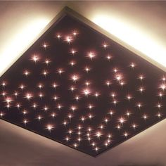 Ciel plafond lumineux fibre optique par LukaDecoDesign sur Etsy, €575,00