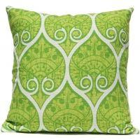 Spade Ogee - Green Pillow