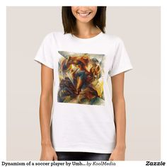 Dynamism of a soccer player by Umberto Boccioni T-Shirt