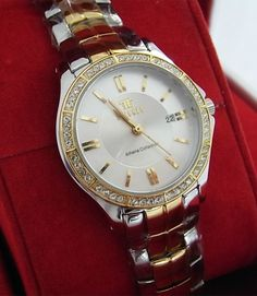 FIRENZE Wristwatch for Lady Stainless Steel WR 30M Japan Movement Date Gift Box