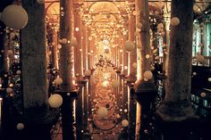 Basilica Cistern. One of my favorite (tourist) places in Istanbul.