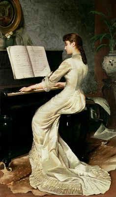 A song without words by George Hamilton Barrable,1880.