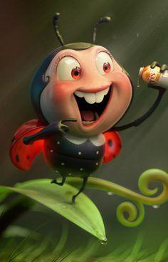 CGTalk - LadyBug, Pedro Conti (3D)