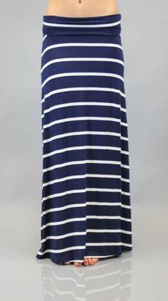 Set Those Sails Maxi Skirt