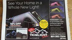 Permanent House Christmas lights!