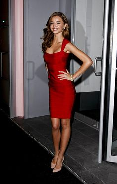 http://hotheels.digimkts.com/  Miranda Kerr. Love this dress with nude pump..so pretty