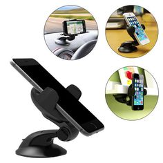 Universal 360° Rotation Car Mount Phone Holder for Phone Under 5.5 inches #UnbrandedGeneric