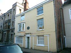 Number 8 College Street, Winchester, where Jane Austen lived until her death in 1817 ©Austenonly