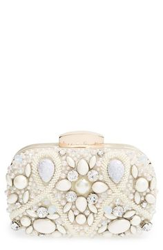 Natasha+Couture+'Vintage+Stone'+Clutch+available+at+#Nordstrom