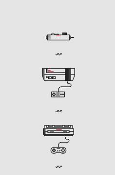 Dotcore! — Nintendo. by Luca Zanellato.