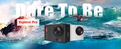Elephone Explorer Pro WiFi Action Camera 170 / 120 / 90 Degree 3 Types Wide Angle Voice Broadcast Underwater Mode Fill in Light with inch Screen Mobile Technology, Discount Coupons, Explore, Esports, Gadgets, Summer, Gadget