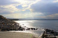 The beach at Strandhill Co Sligo