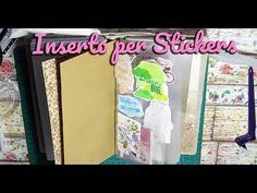 DIY INSERTO PORTA STICKERS PER MIDORI TN | Libretto per stickers