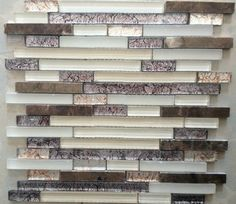 Glass Mosaic Stone Mosaic Bathroom Tile Glass Stone Mosaic Wall Tiles SGMT044 modern-mosaic-tile