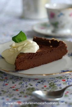 Brownie com café – Sem gluten, sem açucar, sem carboidratos! |
