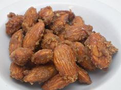 Praline Almonds  4 Individual 15 oz Snack Size Bags by justByou, $6.00