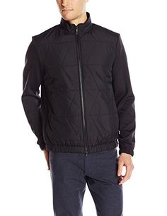 Theory Men's Semour Jacket In Jetliner Quilted Fabric