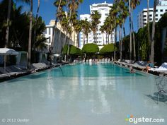 The Pool at the Delano Hotel