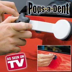 Simonize™ Pops-A-Dent™ repair kit quickly repairs dings and dents on your car #doityourself #repair