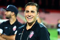 Fabio Cannavaro Coach Seconda Allenatore dell Al Ahli Dubai