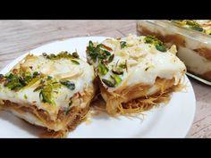 Eid par aapne ye meetha kabhi khaya ya banaya hai?? Eid episode 04 sevai phirni pudding Nawabi sewai - YouTube Indian Food Recipes, Indian Foods, Ethnic Recipes, South Indian Food, Indian Sweets, Cooking Videos, Eid, Sweet Recipes, Deserts