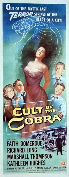 Cult of the Cobra. 1955 Oiginal 1955 Movie by ArtisticSoulStudio, $175.00