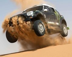 Monster Energy X-raid Team Go wild in the desert Dunes! Hit the pic to watch the #extreme video!