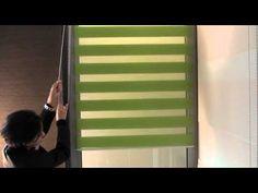 """ROLETY WEWNĘTRZNE DZIEŃ I NOC: Jeśli zamierzasz remontować mieszkanie, nie zapomnij o zmianie rolet. Dziś różnobarwność i ciekawy kształt to ich zalety. Ale hitem ostatnich miesięcy są rolety tzw. """"dzień i noc"""". To specjalny rodzaj roletki z tkaniny w poziome pasy. Blinds, Curtains, Home Decor, Decoration Home, Room Decor, Shades Blinds, Blind, Draping, Home Interior Design"""