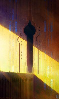 ArtStation - Path to Q'dar, Christopher Balaskas