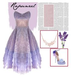 """Rapunzel"" by ellmoonlightqueen ❤ liked on Polyvore featuring Gianmarco Lorenzi"