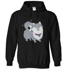 Love Pomeranian Dog - create your own shirt #silk shirts #black hoodie womens