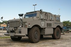 Chicago PD SWAT Truck.
