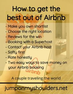 """""""Airbnb"""" is the short version for """"Airbed & Breakfast"""". But don't worry, you don't have to sleep on airbeds. If you don't know it: Airbnb is an accommodation platform for renting and hosting private accommodation. Airbnb Host, Renting, Travel Couple, Don't Worry, No Worries, Platform, Sleep, How To Get, Breakfast"""