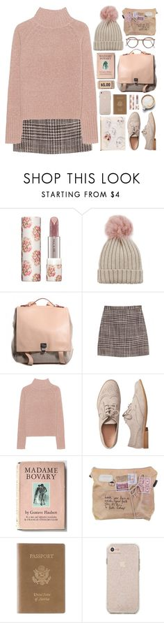"""130117"" by rosemarykate ❤ liked on Polyvore featuring Paul & Joe, Jocelyn, Proenza Schouler, Missoni, 360 Sweater, Gap, Caffé and Royce Leather"