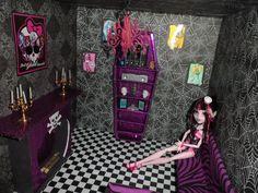 monster high doll house den